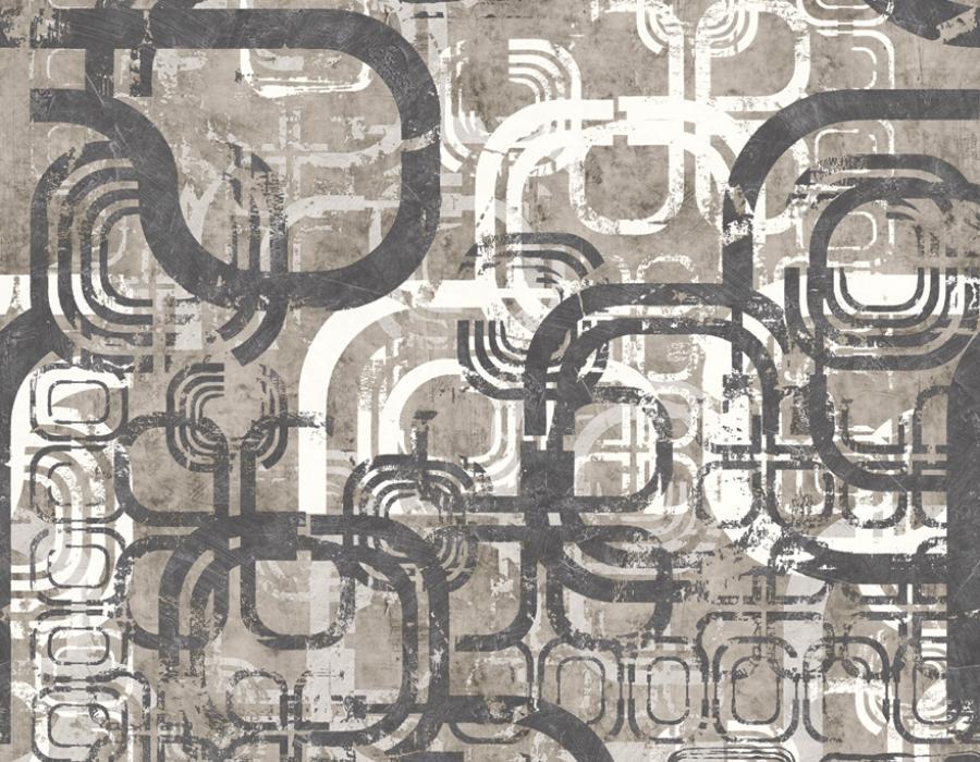Domus Naturae Carta da parati digitale 30598 grigio - AERREe
