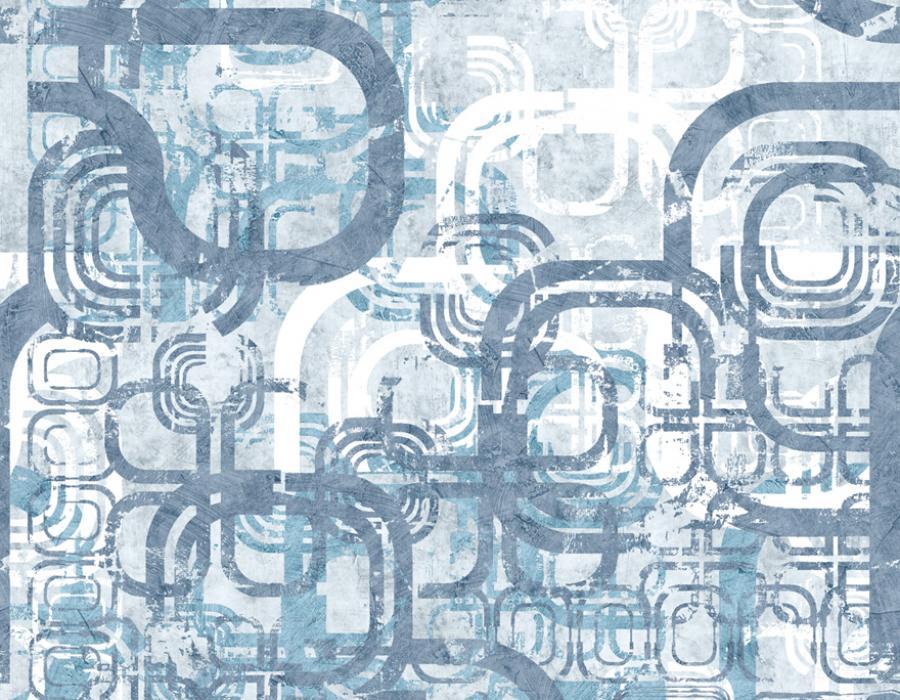Domus Naturae Carta da parati digitale 30599 azzurro - AERREe
