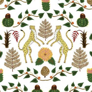 carta da parati ghepardi AERREe