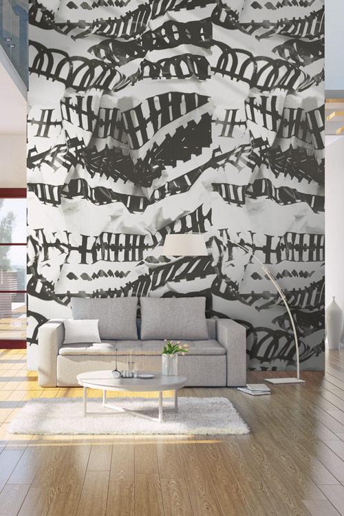 AERREe - Carta da parati Casamance Oxymore Pannelli murali - soggiorno