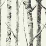 Carta da parati Eco Chic 2 - alberi EC50000 - AERREe