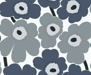 Carta da parati Marimekko Essential 13070 Unikko - AERREe