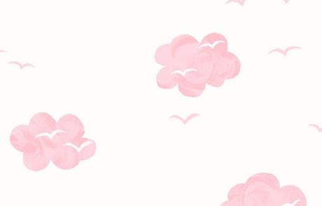 Carta da parati Nuvole KJ52401 Pajama Party - AERREe