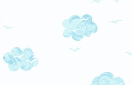 Carta da parati Nuvole KJ52402 Pajama Party - AERREe