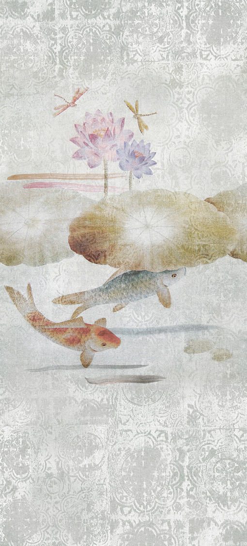 Carta da parati digitale Murogro Koi 20682 - AERREe