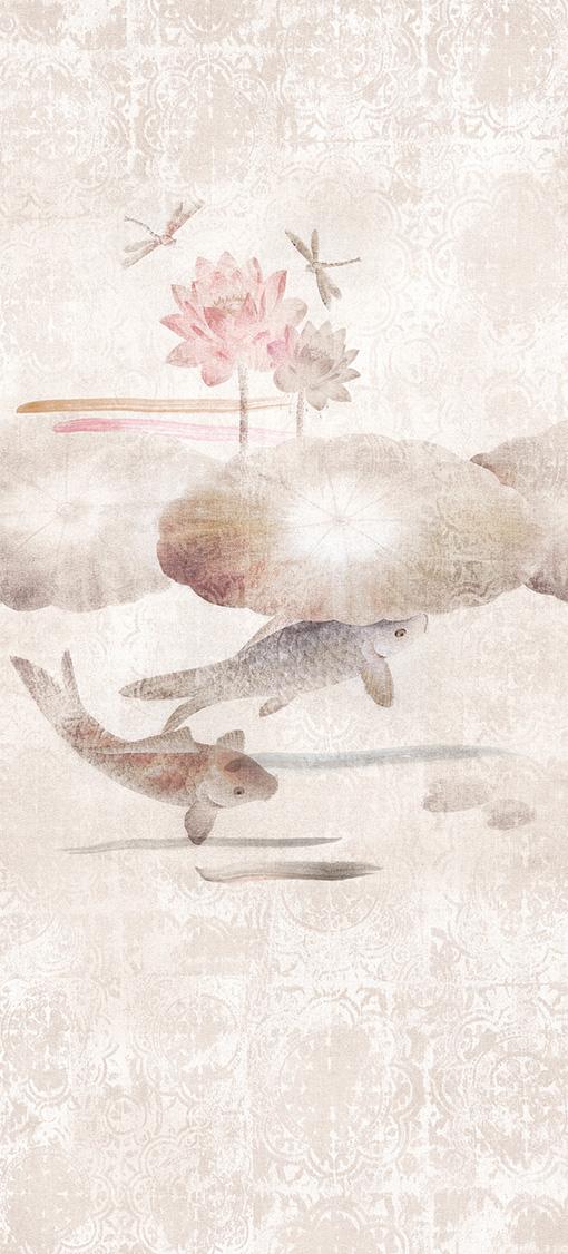 Carta da parati digitale Murogro Koi 20683 - AERREe