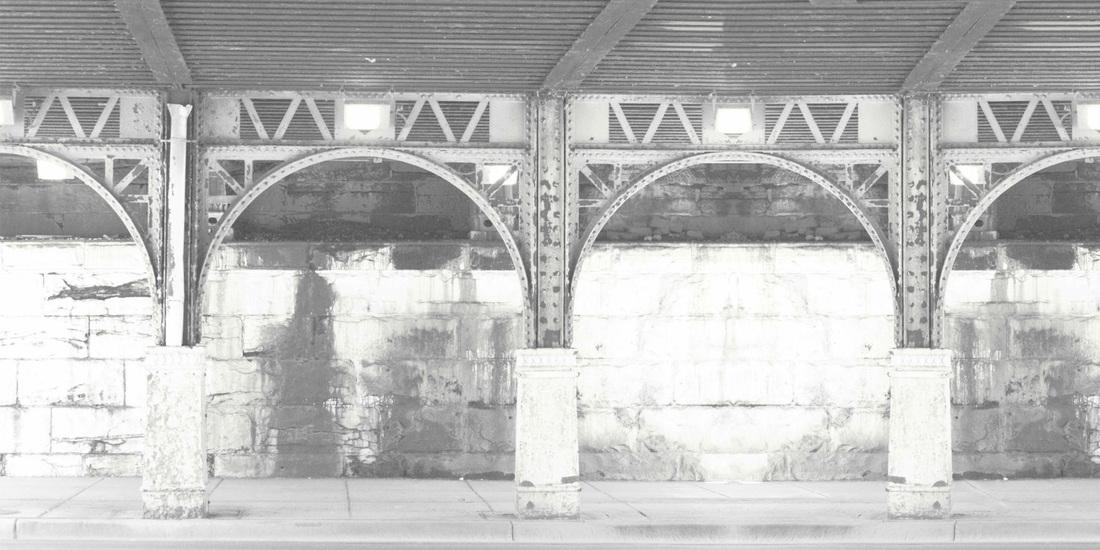 Pannello murale decorativo Stampa digitale Stazione chiaro - AERREe