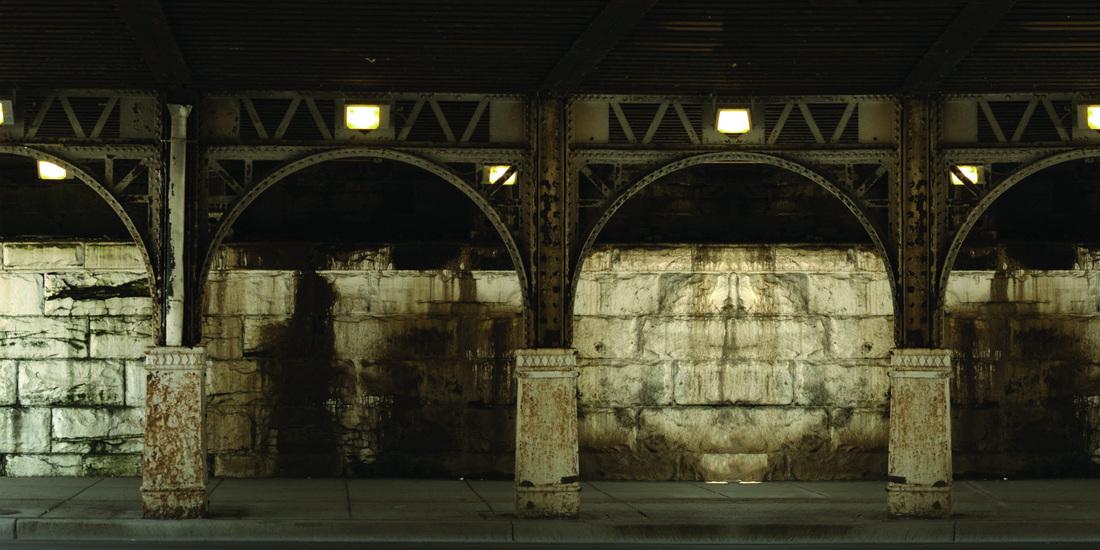 Pannello murale decorativo Stampa digitale Stazione colore - AERREe