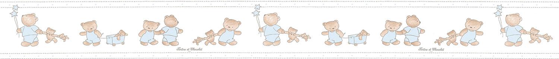 Carta Da Parati E Bordi.Carta Da Parati Tartine Et Chocolat Carta Da Parati Per Bambini