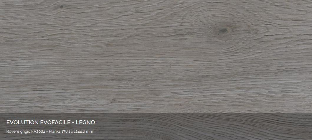 Evolution EvoFacile Rovere grigio FA2084 AERREe