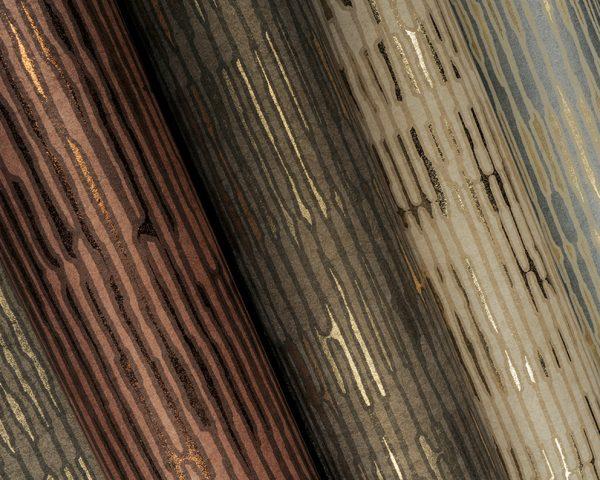 Rivestimento murale in fibra naturale Omexco Cobra dettaglio AERREe