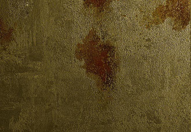 pittura metallica Zeus oro dettaglio
