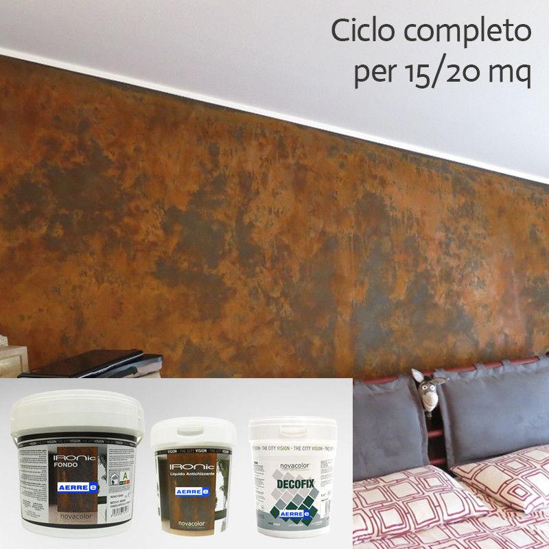 Pittura Effetto Ruggine IRONIC per 15-20 mq AERREe