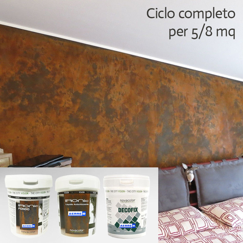 Pittura Effetto Ruggine IRONIC per 5-8 mq AERREe