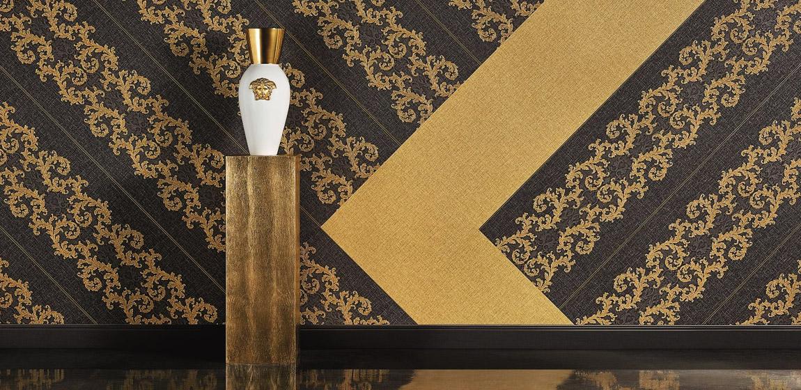 Carta Da Parati Giungla Versace.Carta Da Parati Versace Home 2 Carta Da Parati Lusso Aerree
